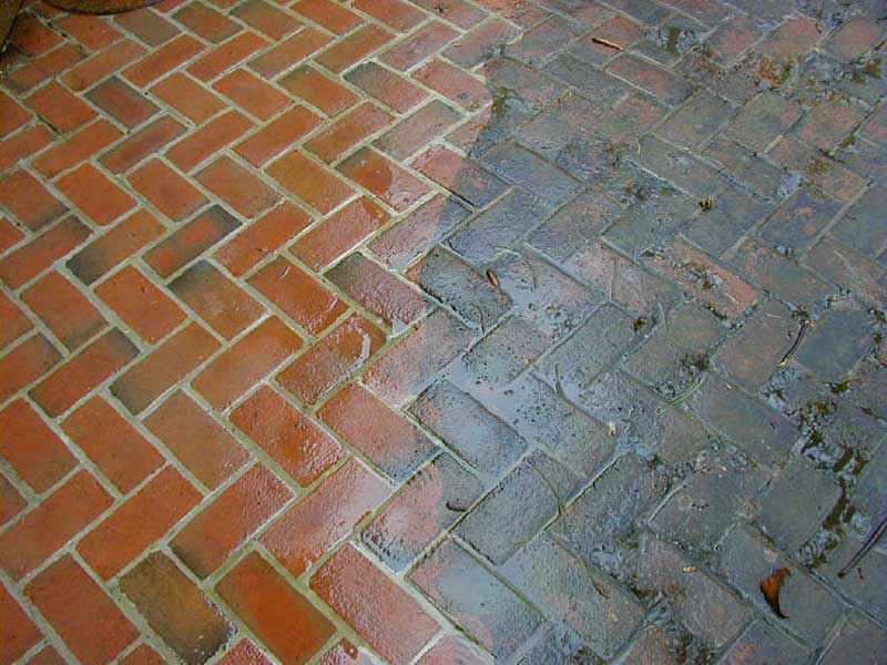 pressure washing, deck wasjung, sidewalk washing, algea removal, siding washing
